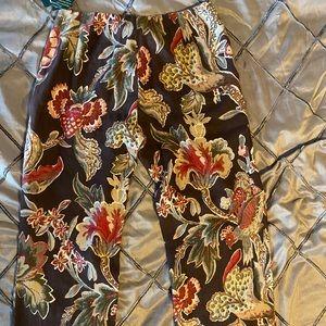 Lauren Ralph Lauren Pants & Jumpsuits - Earthtone Lauren Ralph Lauren Linen Capris